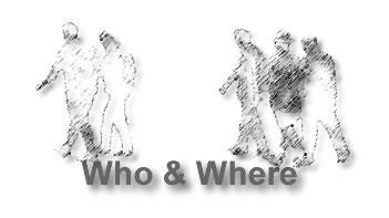 Who & Where Logo